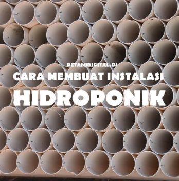 Cara Membuat Instalasi Hidroponik