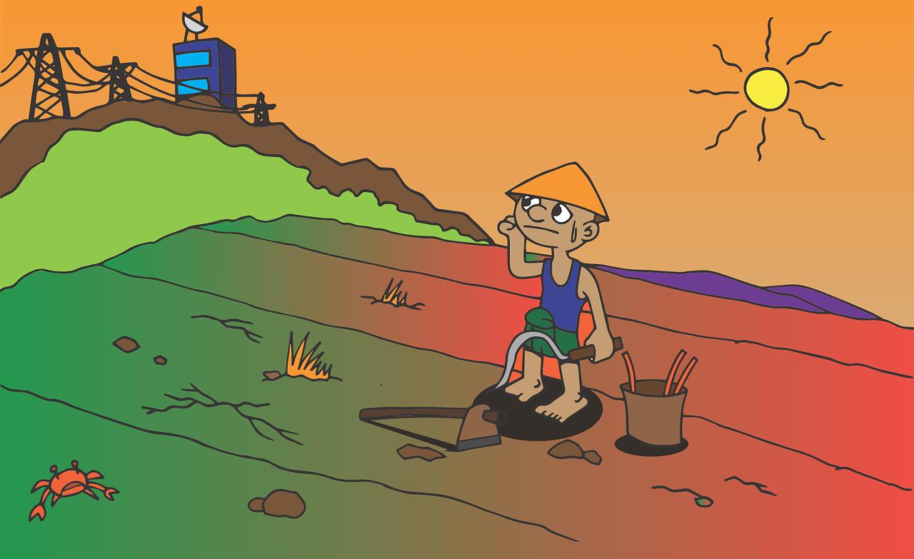 Gambar Kartun Petani